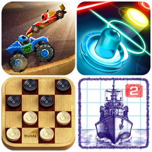 ТОП-5 Андроид игр на двоих